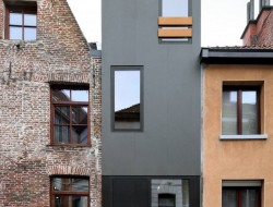 Gelukstraat by Dierendonck Blancke Architecten - Ghent, Belgium