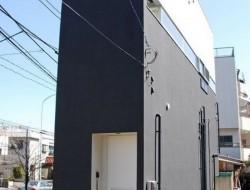 Narrow Buildings in Japan