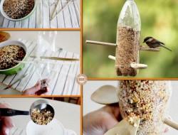 DIY Plastic Bottle Bird Feeder - The Owner-Build Network