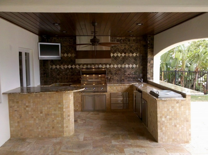 Outdoor kitchens the owner builder network for Exterior kitchen ideas