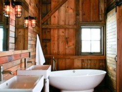 Rustic Bathroom - Chicago by Northworks