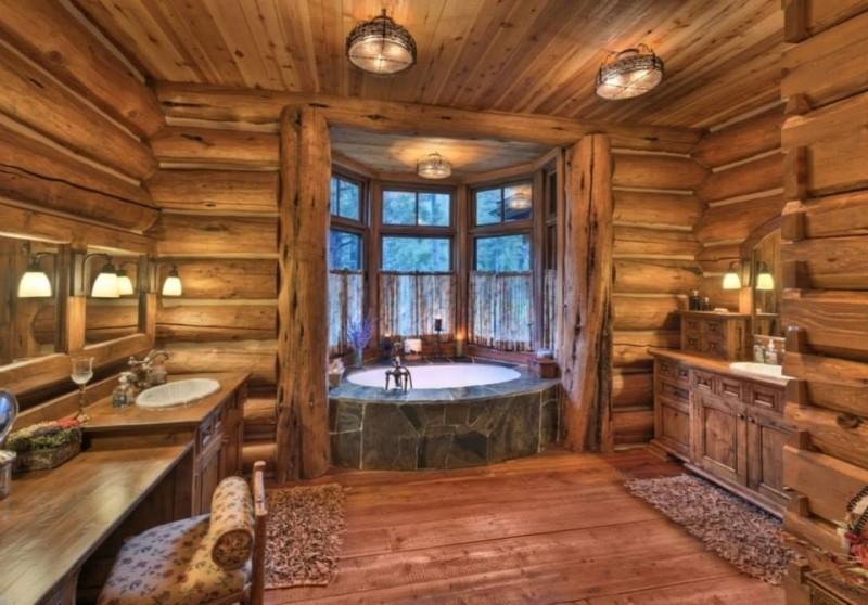 Rustic Bathroom Types - Interior Sign Design