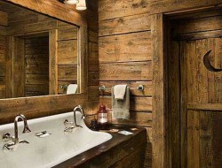 Rustic Bathroom - Twist My Armoire