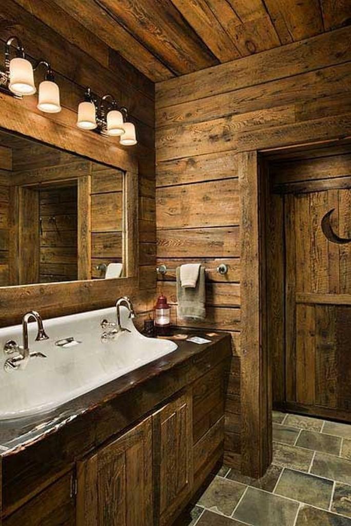 Rustic Bathroom - Twist My Armoire