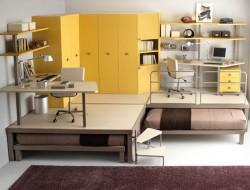 Colorful Teenage Loft Bedrooms - Tumidei