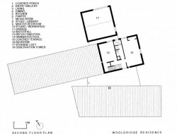 Three Stones House - Second Floor Plan