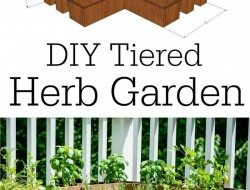 DIY Tiered Herb Garden - Decor And The Dog