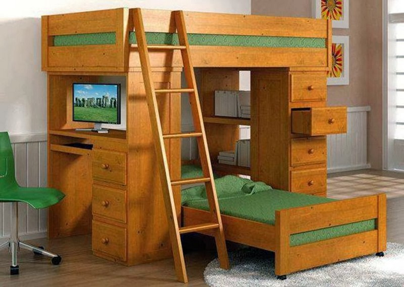 This bunk bed really does have the makings of a great design.