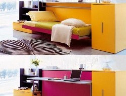 Cabrio In Folding Bed - Desk for Small Space Living