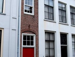 Narrow Canal Homes in Amsterdam