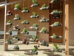 DIY Vertical Plastic Bottle Planter - The Owner-Build Network