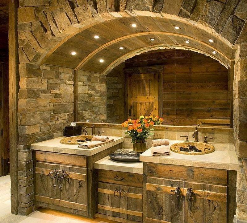 Rustic Bathrooms - The Owner-Builder Network