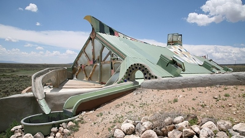 Earthship Home - New Mexico