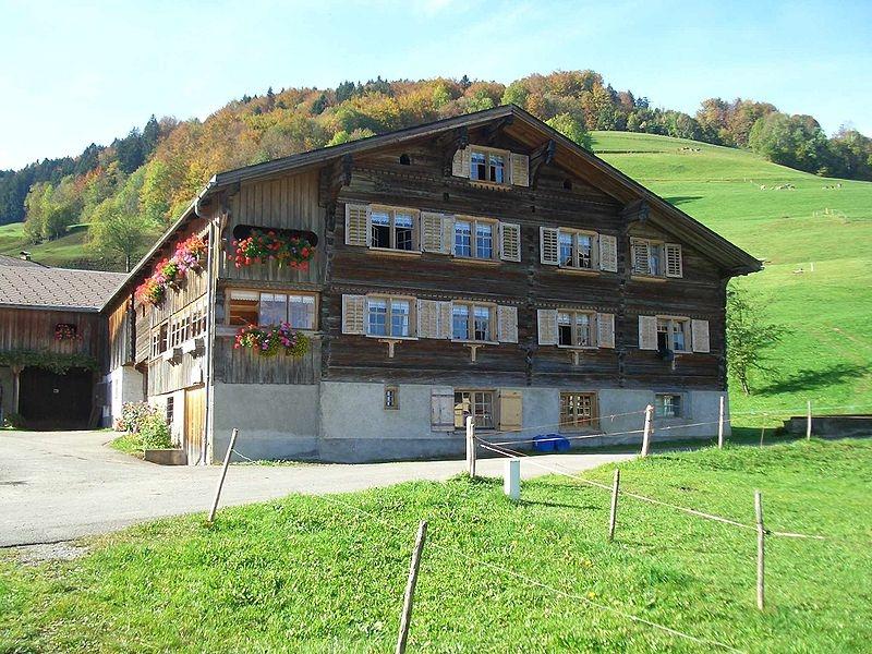A traditional Bregenzerwaldhaus
