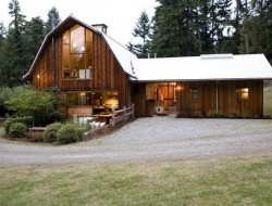 Washington Barn by SHED Architecture and Design - Whidbey Island, Puget Sound, Washington