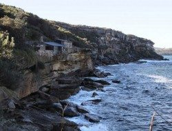 Living on the Edge - Crater Cove, Sydney Harbour