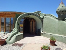Earthship Home - Taos, New Mexico