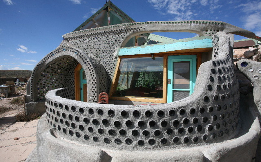 Earthship Construction Materials : Earthship homes the owner builder network