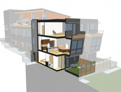 Harborview Townhouses - Features