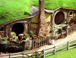 We found Bilbo Baggins's home!