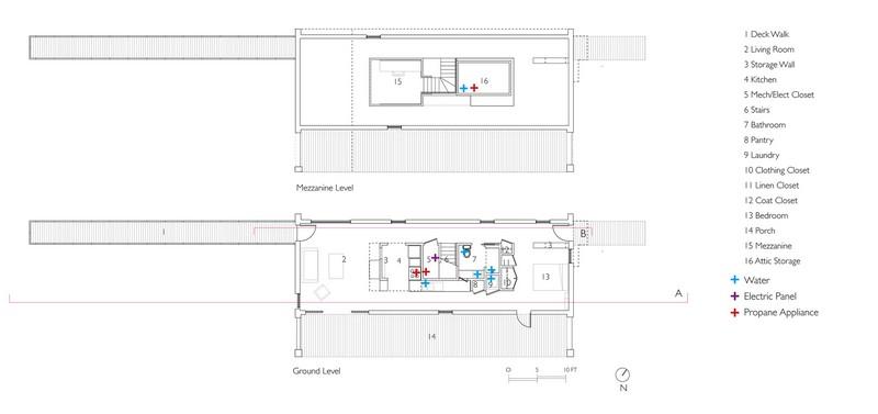 House on Limekiln Line - Plans