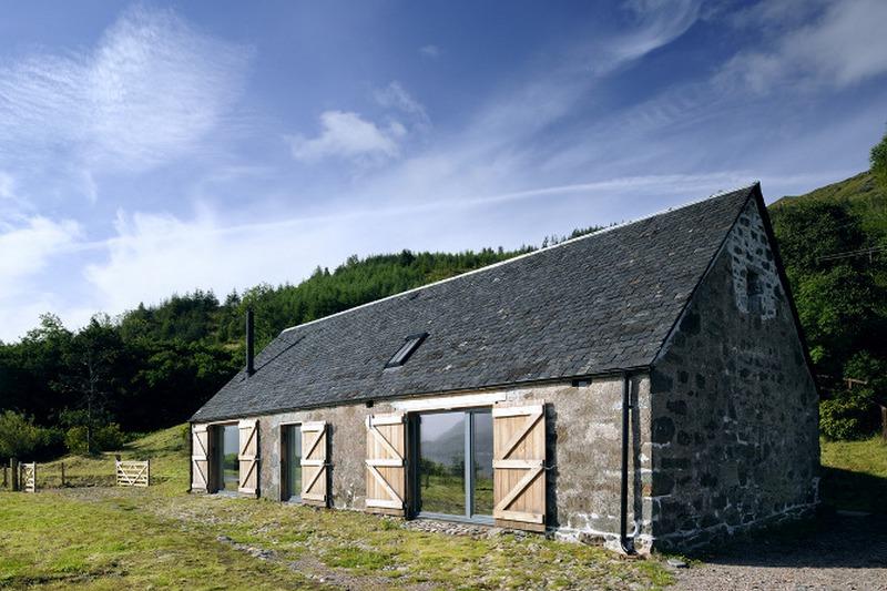 Leachachan Barn by Rural Design Architects - Loch Duich, Scotland