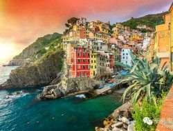 Living on the Edge - Riomaggiore, Italy