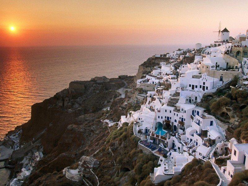 Living on the Edge - Santorini, Greece