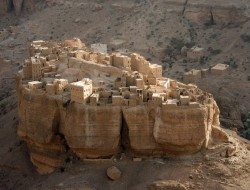 Living on the Edge - Wadi Dawan, Yemen