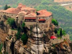 Living on the Edge - Meteora, Greece