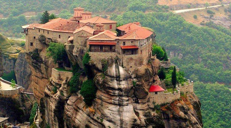 Living on the Edge - Meteora, Greece
