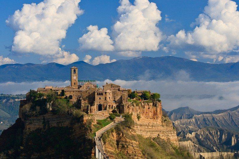 Living on the Edge - Civita Di Bagnoregio, Italy