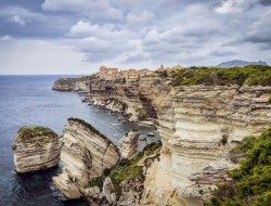 Living on the Edge - Bonifacio, Corse, France