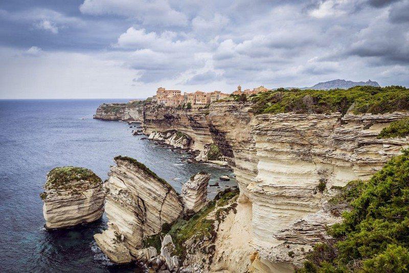 Living on the Edge - Bonifacio, Corse, France