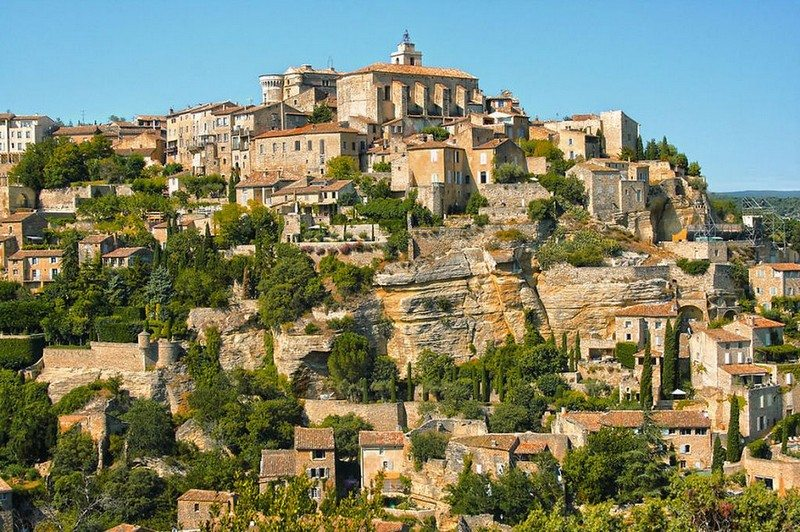 Living on the Edge - Gordes, Provence, Southern France