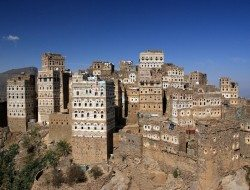 Living on the Edge - Al Hajjarah, Yemen