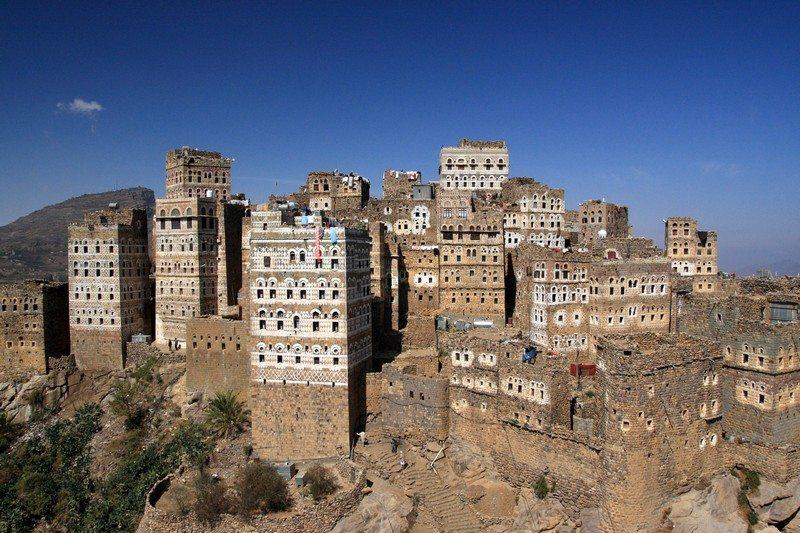 Living on the Edge - Al Hajjarah, Yemen