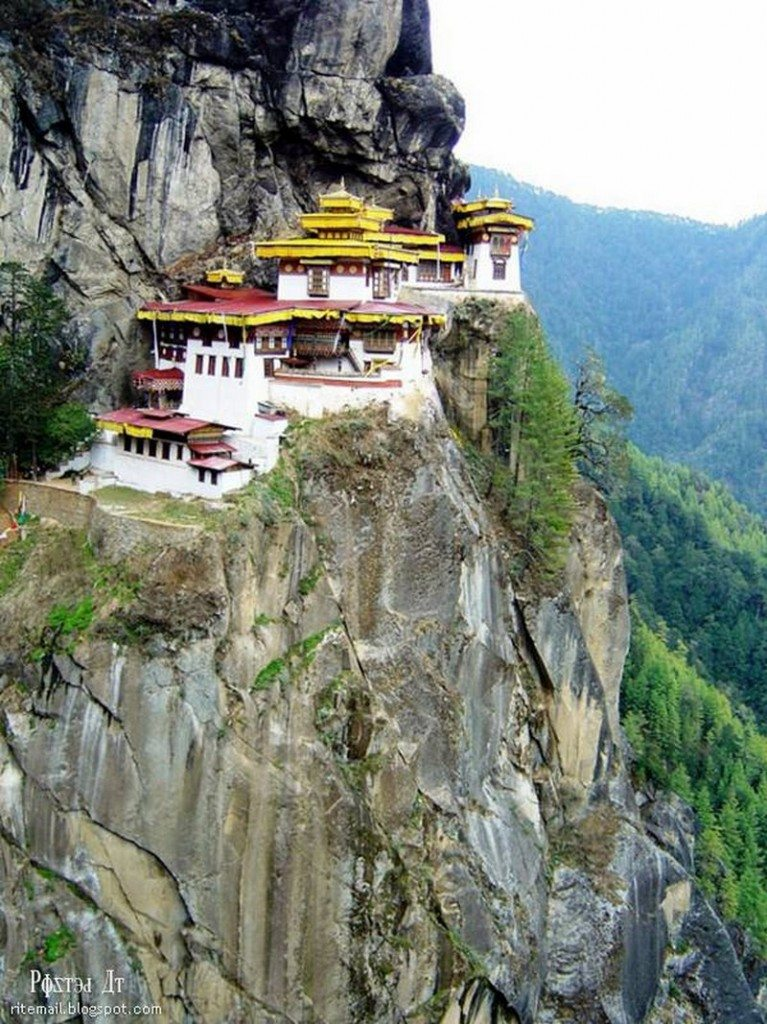 Living on the Edge - Paro Taktsang, Bhutan