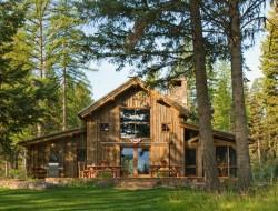 Montana Mountain Retreat Barn - Heritage Barns