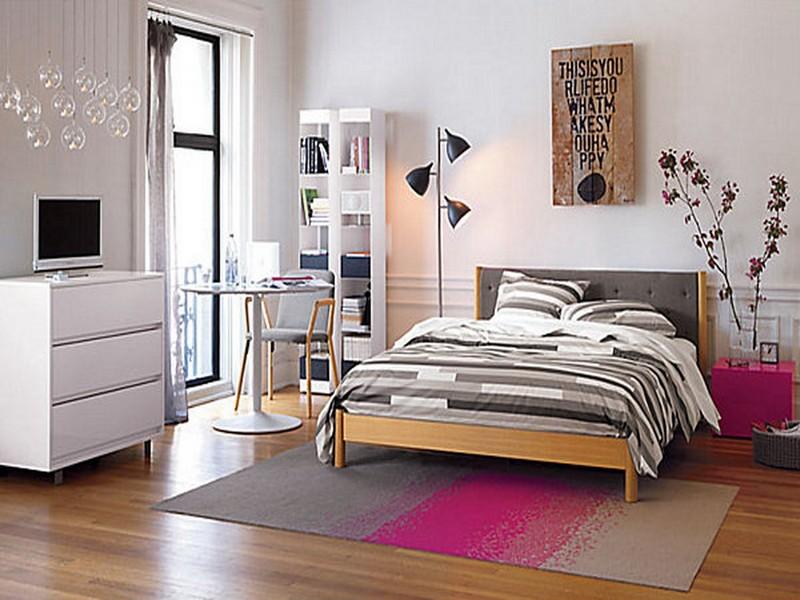 Modern Teenage Girls Bedroom