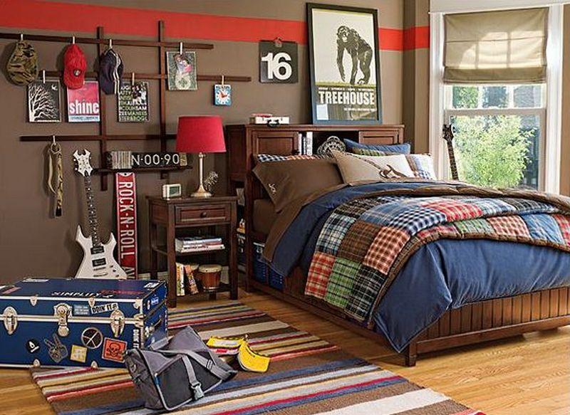 Chich Teenage Boys Bedroom