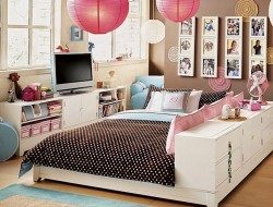Cute Bedroom Teenage Girls Bedroom