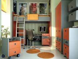 Storage Wise Teenage Boys Bedroom