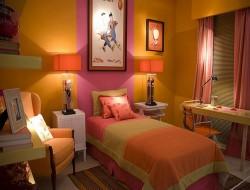 Colorful Teenage Girls Bedroom