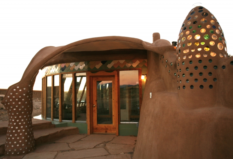 Earthship Home - Taos, New Mexico