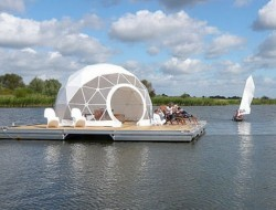 The Floating Dome by Zendome - Berlin, Germany - http://www.zendome.com/