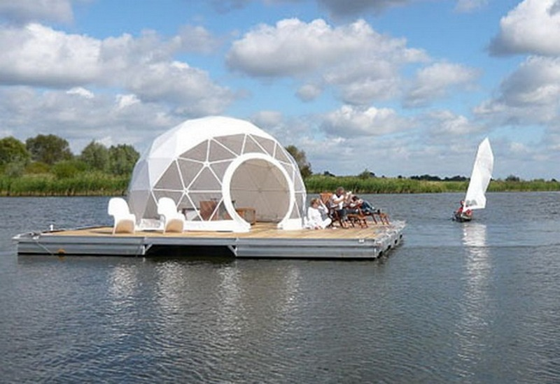 The Floating Dome By Zendome   Berlin, Germany   Http://www.