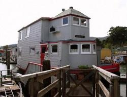 Sausalito Floating Homes by Barbara Duncan - San Francisco Bay in California