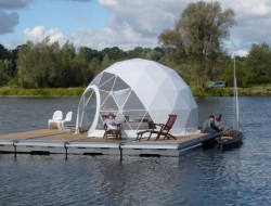 The Floating Dome by Zendome - Berlin, Germany