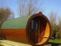 Hobbit Homes - Microlodge, UK